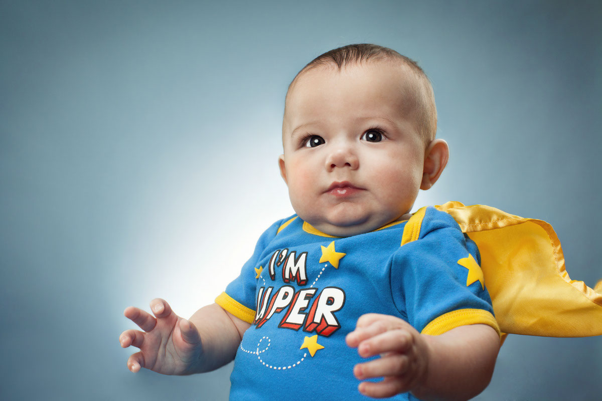 Glasshouse Assignment - Christina Gandolfo - Portrait Photography - Super Baby