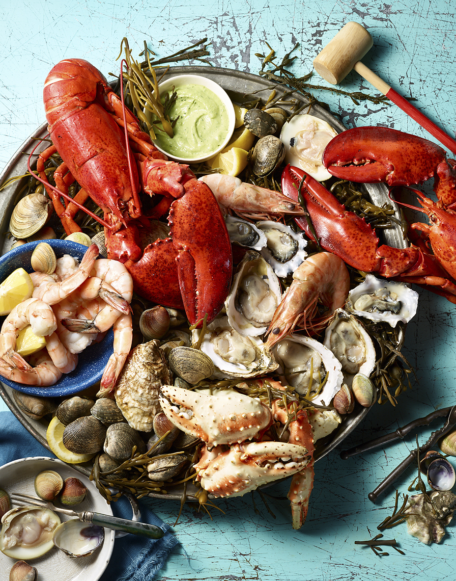 Glasshouse Assignment - Kang Kim - Food Photography - Readers Digest - Seafood