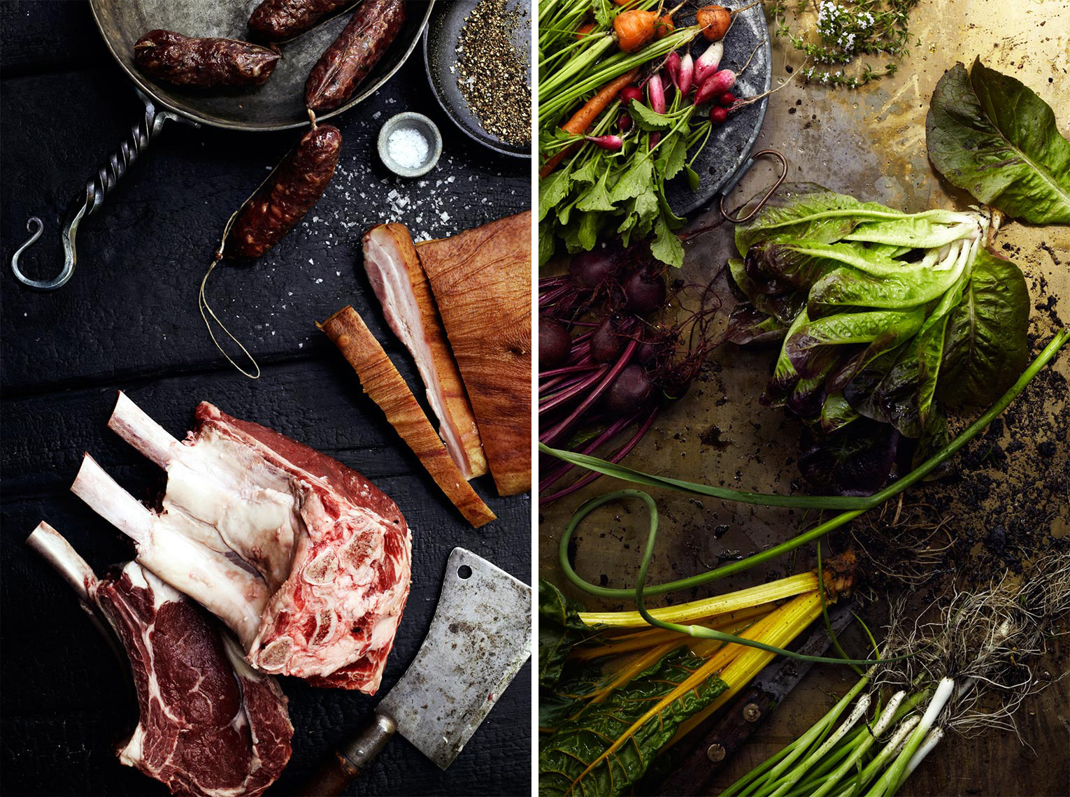 Glasshouse Assignment - Bob Martus - Food Photography - Meat and Veggies