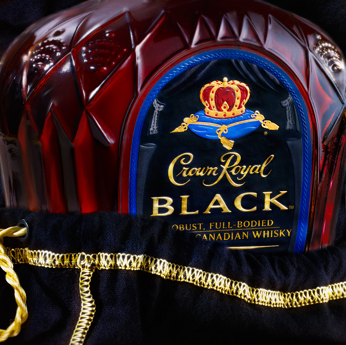 Glasshouse Assignment - David Bishop - Food Photography - Crown Royal Black