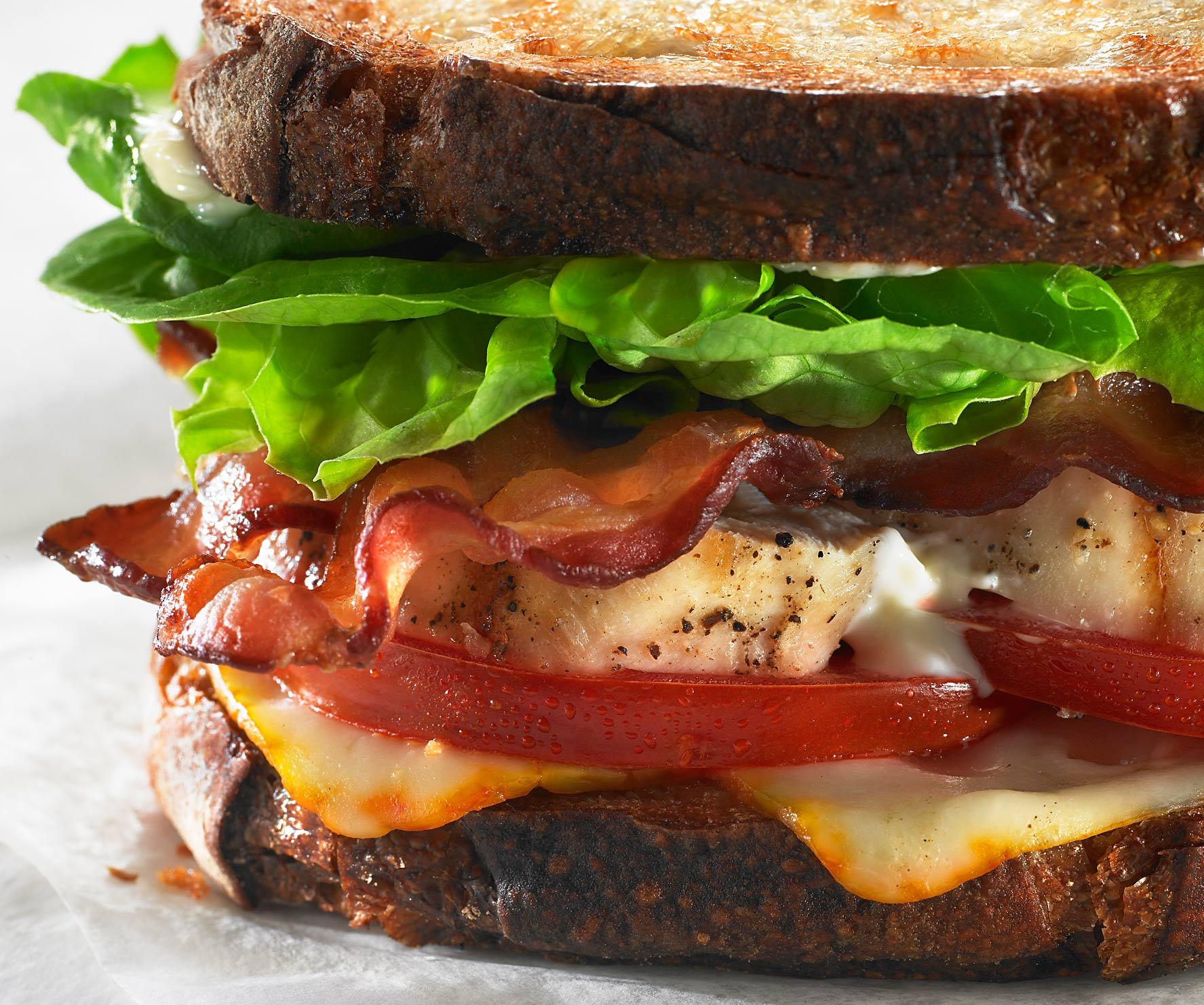 Glasshouse Assignment - David Bishop - Food Photography - Chicken BLT