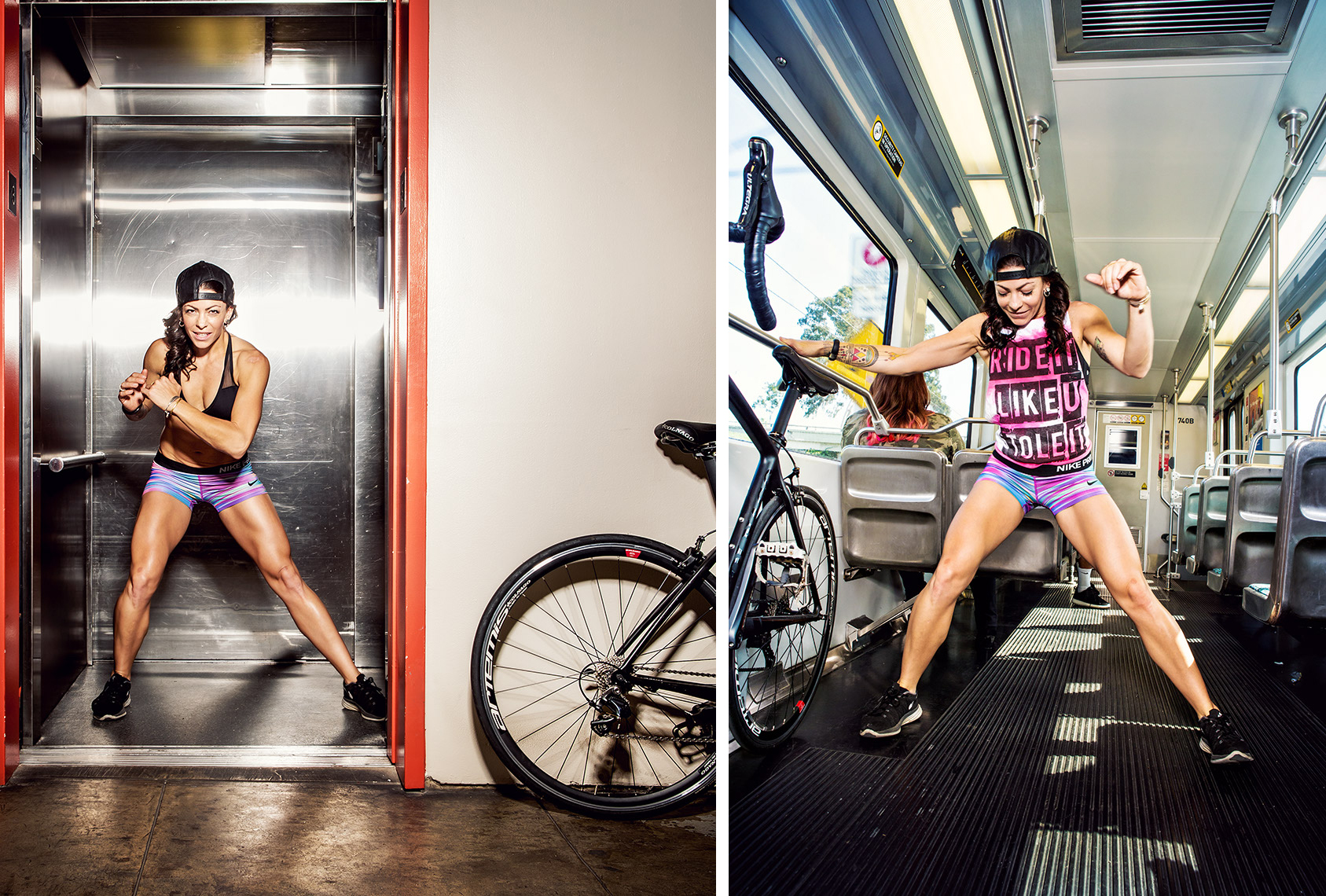 Glasshouse Assignment - Christina Gandolfo - Portrait Photography - Bicycling