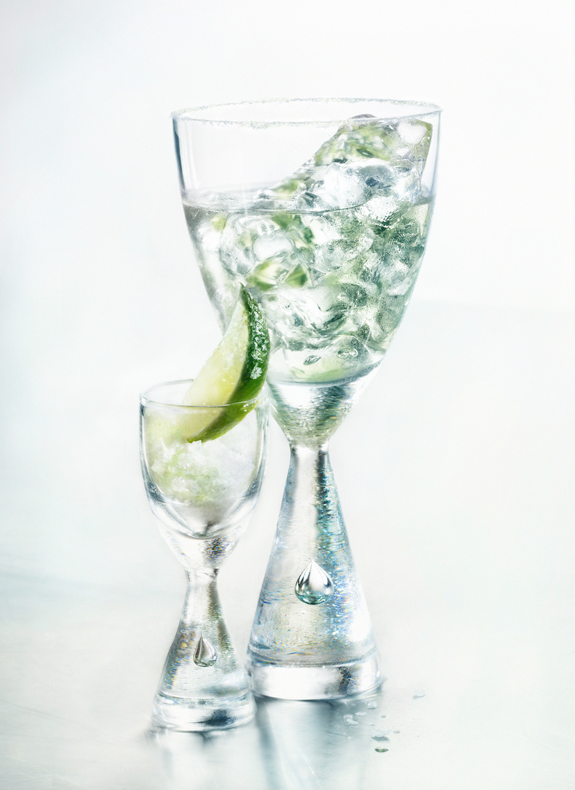 Glasshouse Assignment - David Bishop - Beverage Photography - Cuervo Silver With Salted Lime