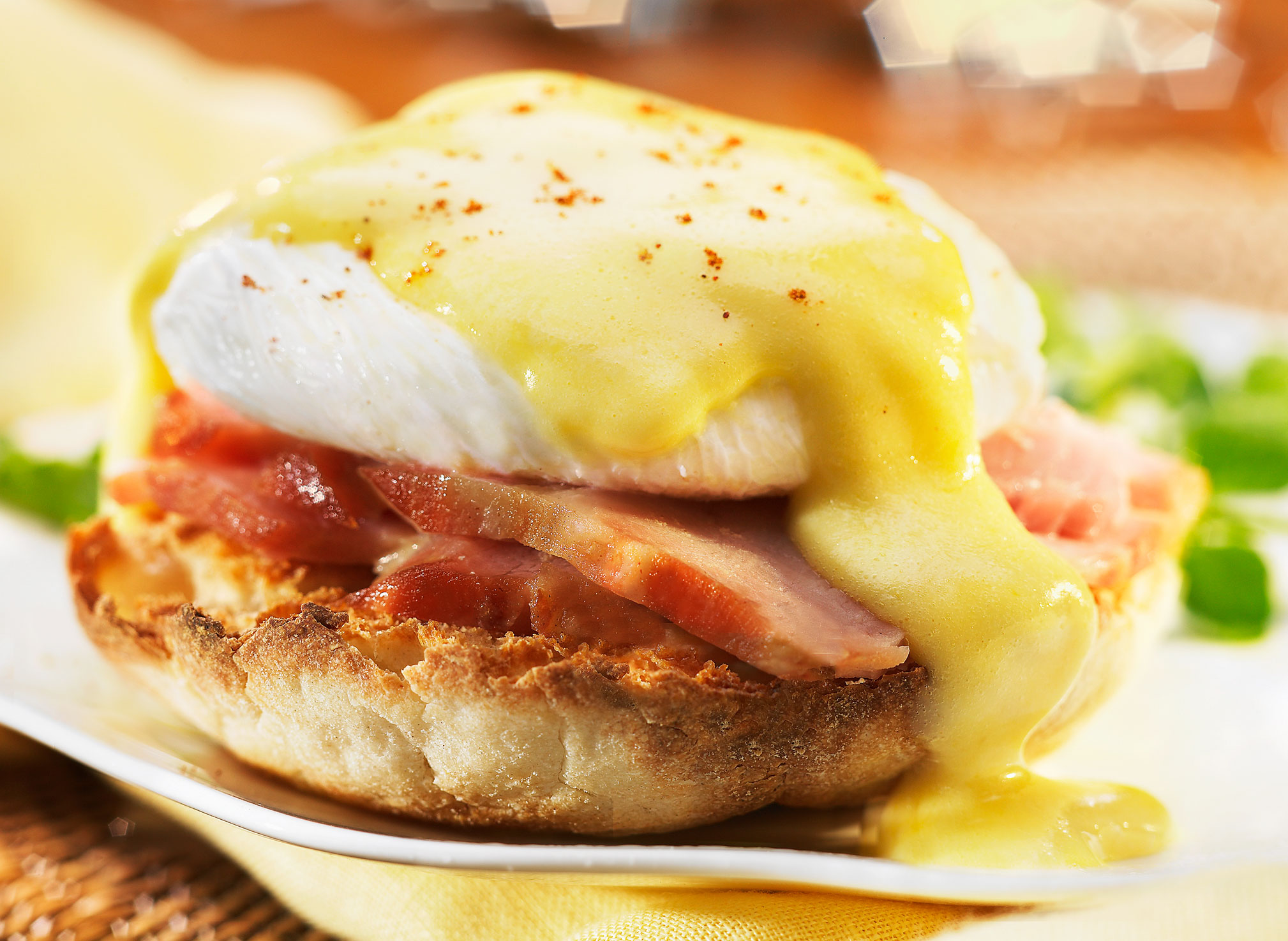 Glasshouse Assignment - David Bishop - Food Photography - Eggs Benedict