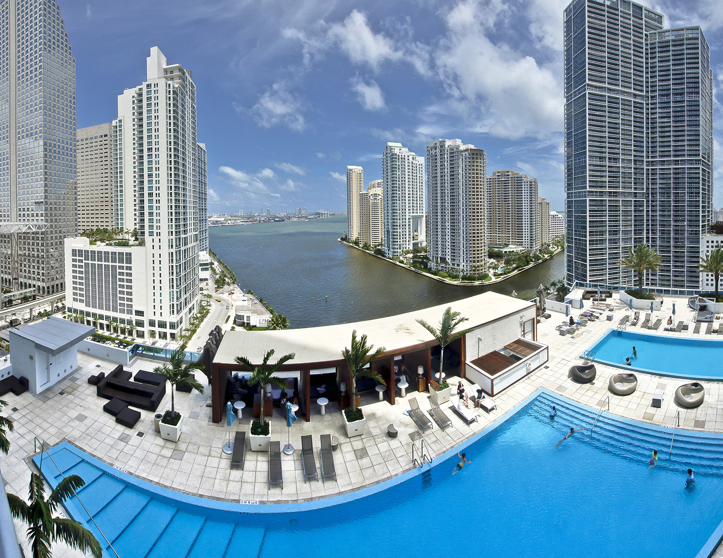 Epic Hotel swimming pool, Miami_APF