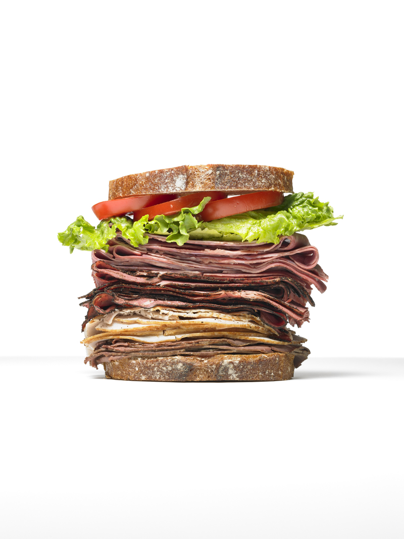 Glasshouse Assignment - Kang Kim - Food Photography - Food Network Magazine - Big Sandwich