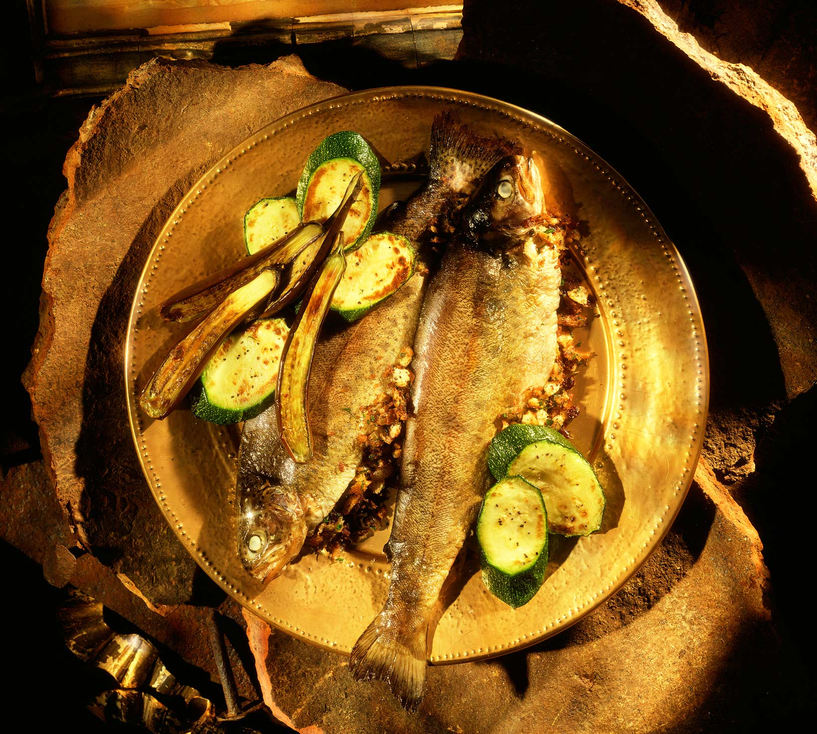 Glasshouse Assignment - David Bishop - Food Photography - Golden Trout