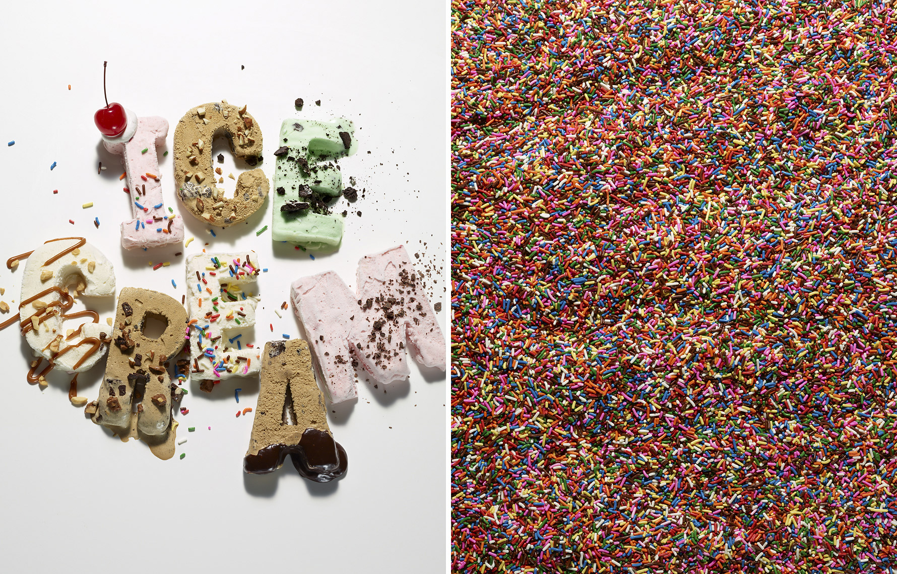 Glasshouse Assignment - Kang Kim - Food Photography - Ice Cream with Sprinkles