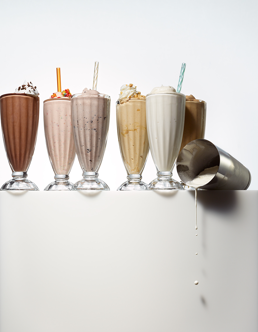 Glasshouse Assignment - Kang Kim - Food Photography - Milkshakes