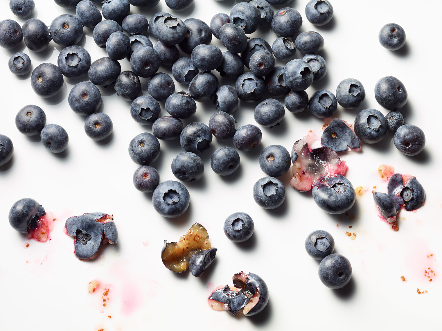 Glasshouse Assignment - Kang Kim - Food Photography - Smashed Blueberries
