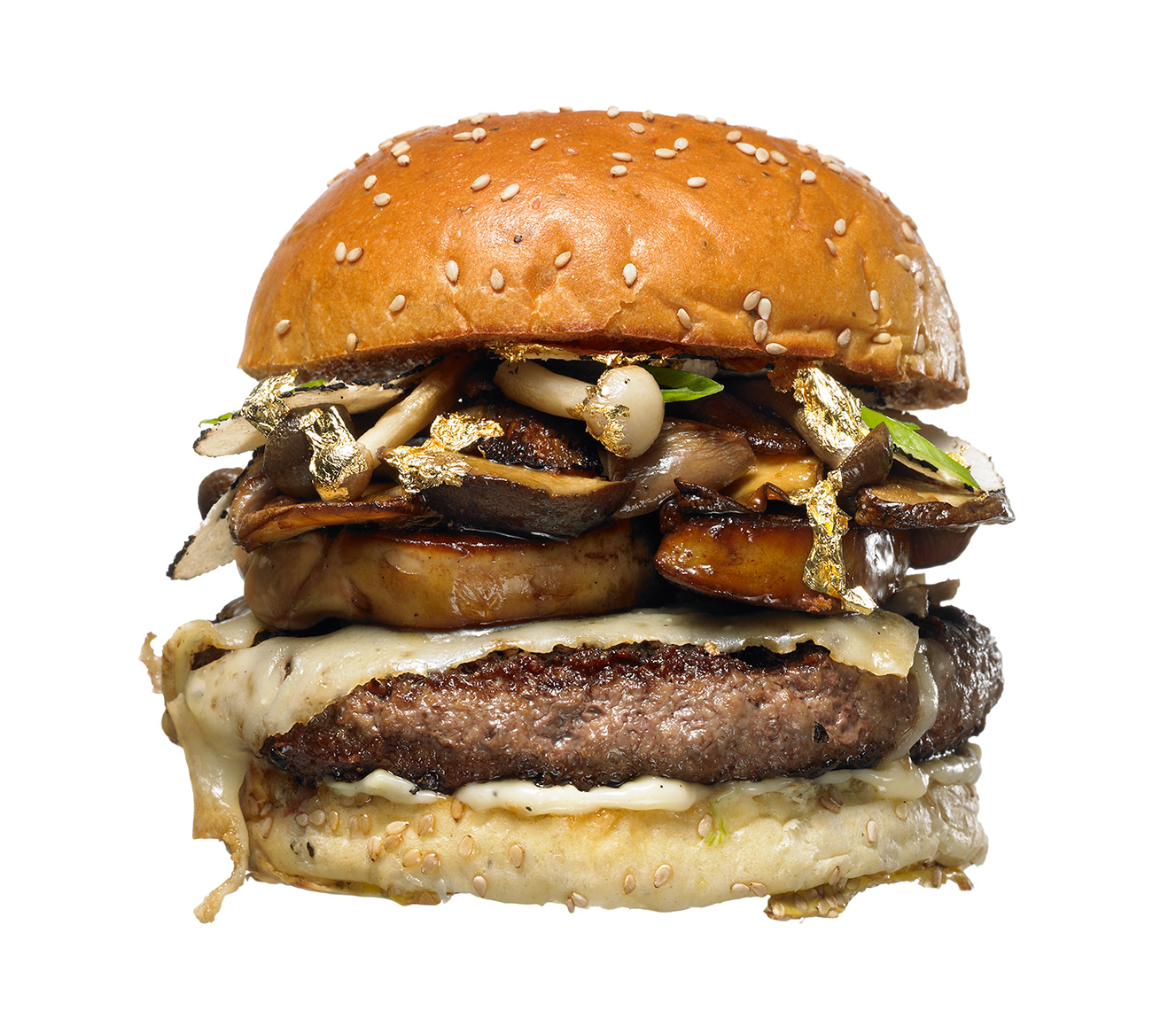 Glasshouse Assignment - Kang Kim - Food Photography - Food Network Magazine - Gold Burger