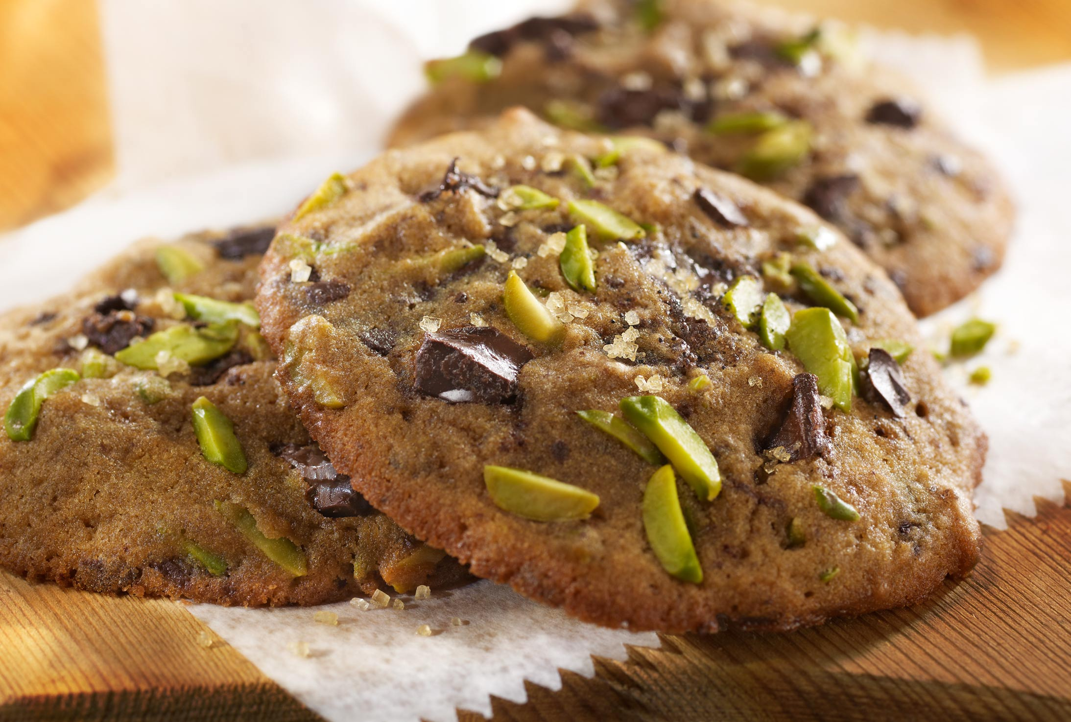 Glasshouse Assignment - David Bishop - Food Photography - Molasses Pistachio Cookies
