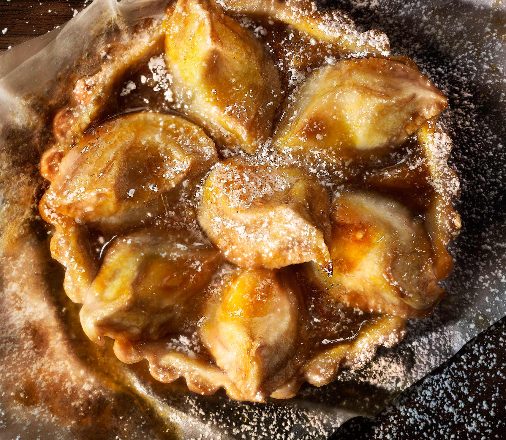 Glasshouse Assignment - David Bishop - Food Photography - Pear Tart