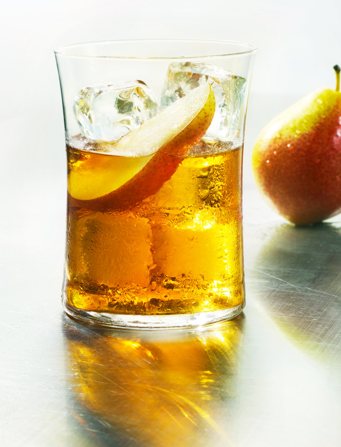 Glasshouse Assignment - David Bishop - Beverage Photography - Scotch with Pear