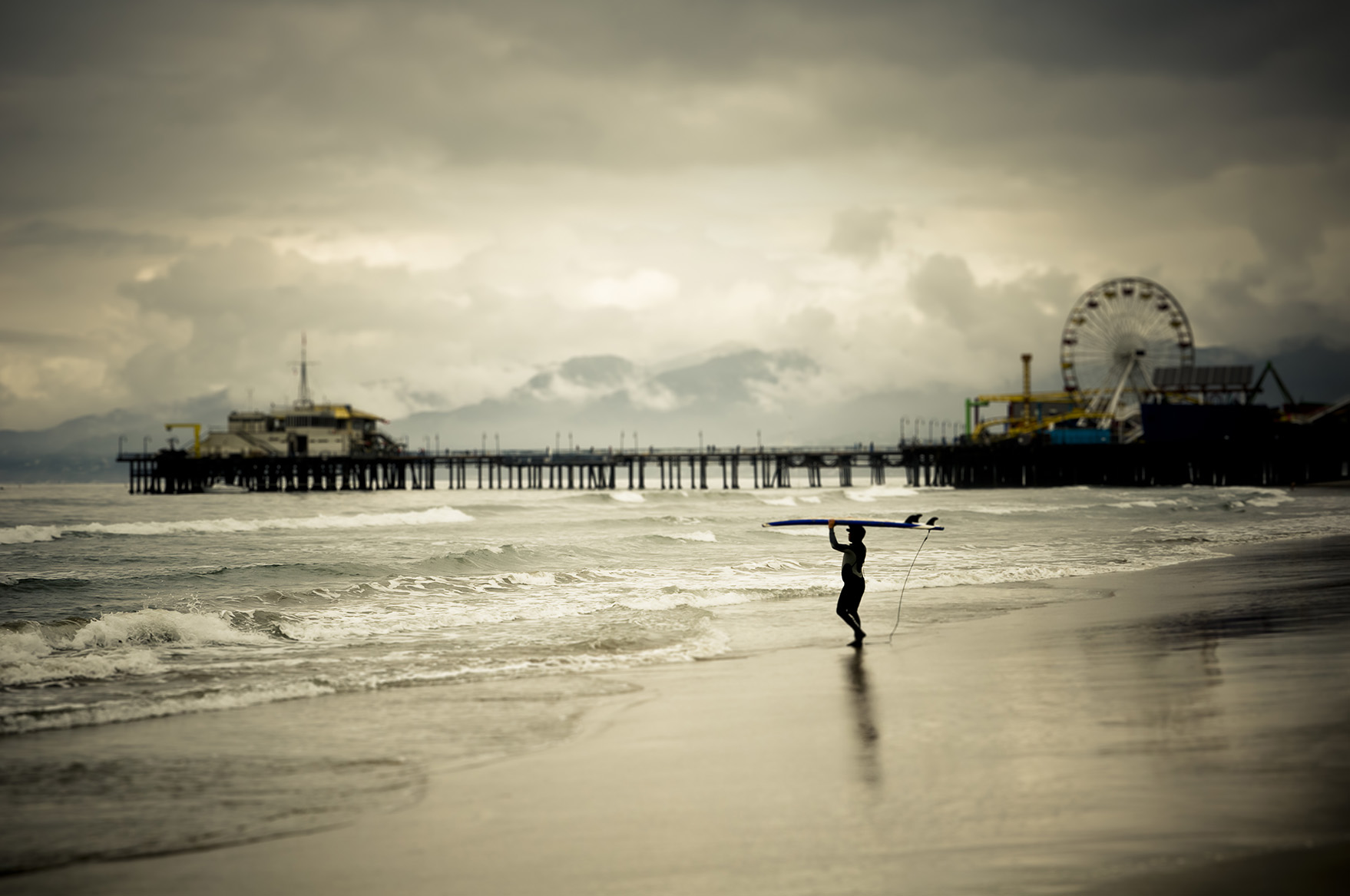 Surfing by the Pier_APF