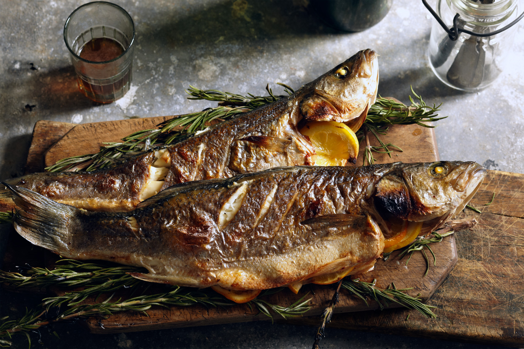 Glasshouse Assignment - Bob Martus - Food Photography - Fish Dinner
