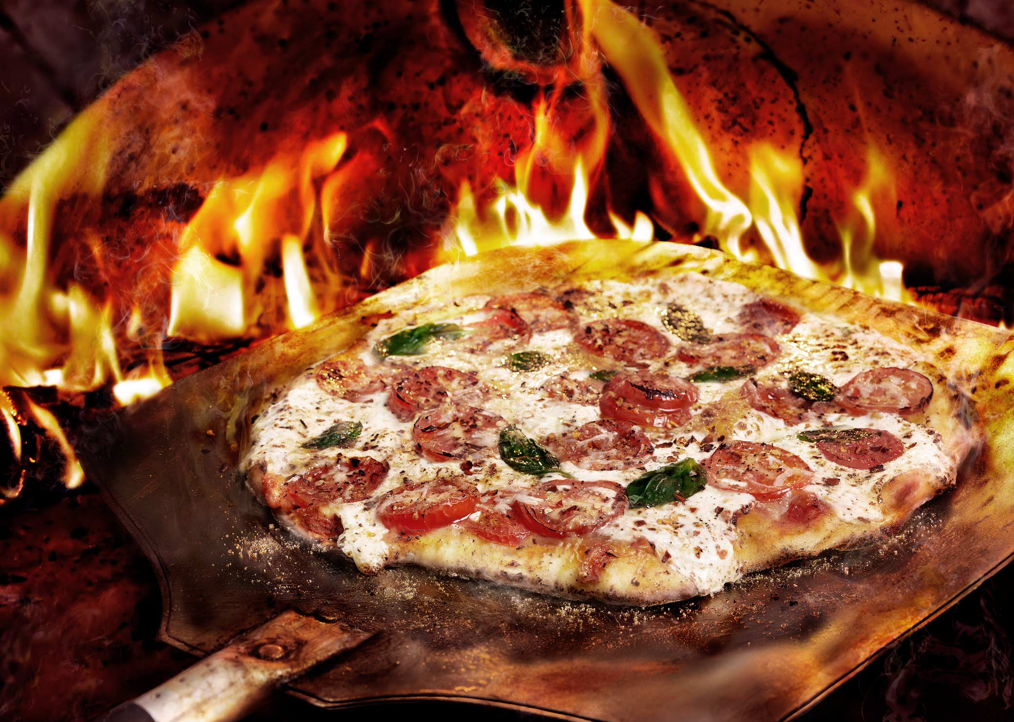 Glasshouse Assignment - David Bishop - Food Photography - Brick Oven Pizza